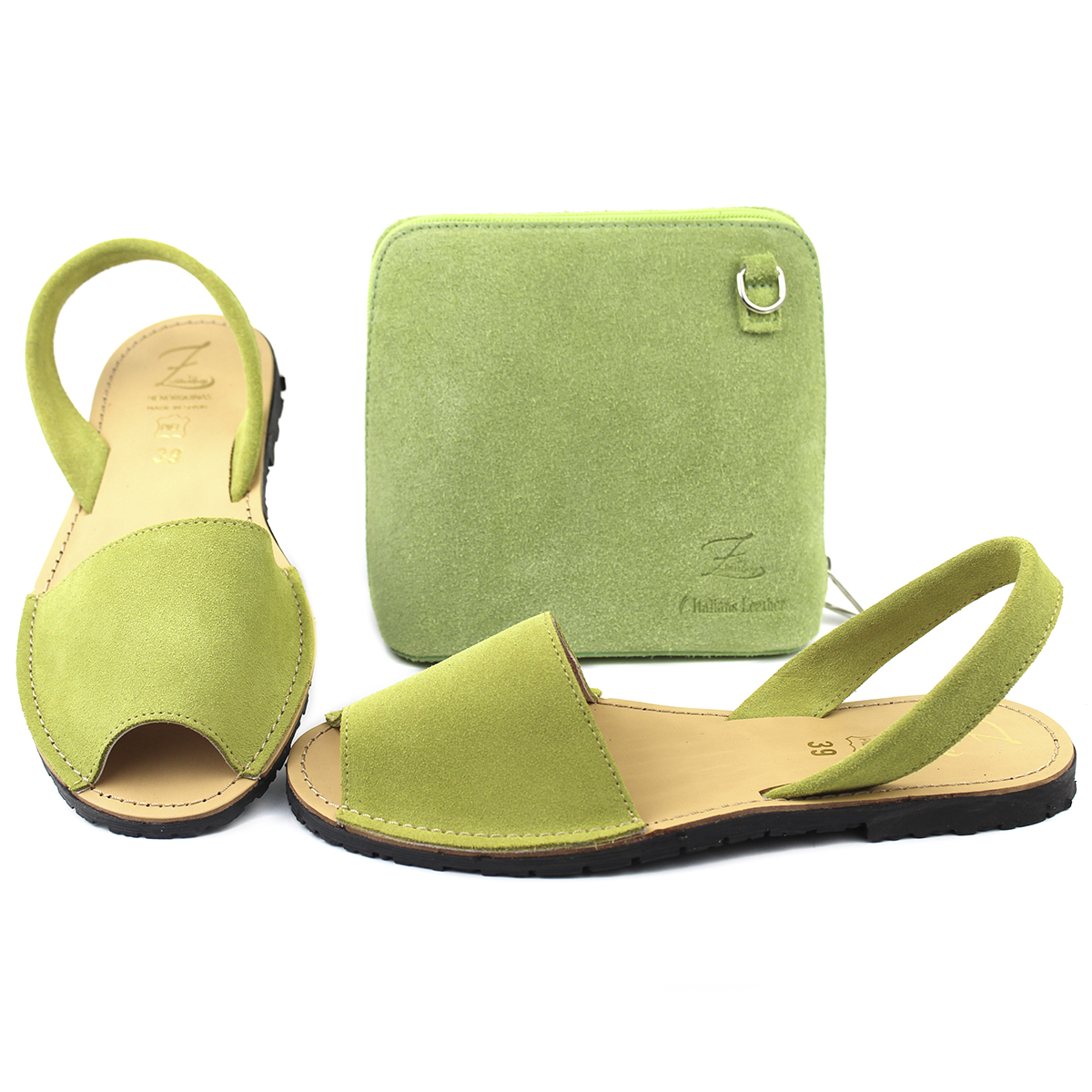 Абаркасы ZAPATOS · 3206 pistacho + Ab.Zapatos Pelle 306 ·